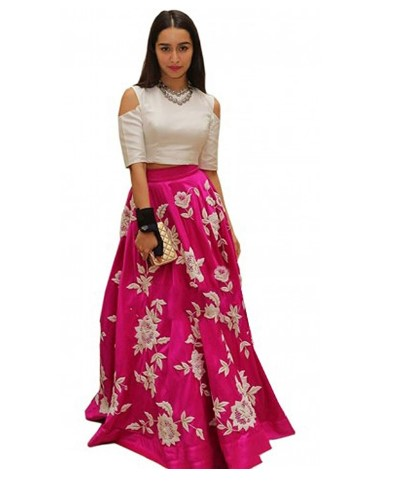 Ethnic Wear Pair An Crop Top With A High Waist Denim Skirt And Sneakers For Casual Yet Stunning Look Dont Forget To Accessorize Well Make