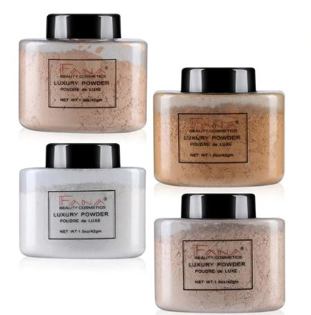 Setting Powder Makeup Concealer Poudre Banana Luxe Maquillage TSLM1
